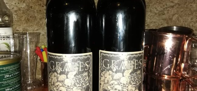 Grapes of Hell wine