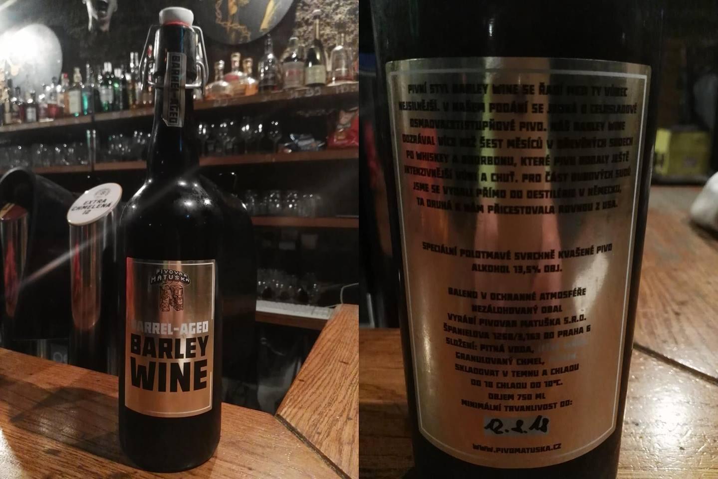 Matuška Barley Wine