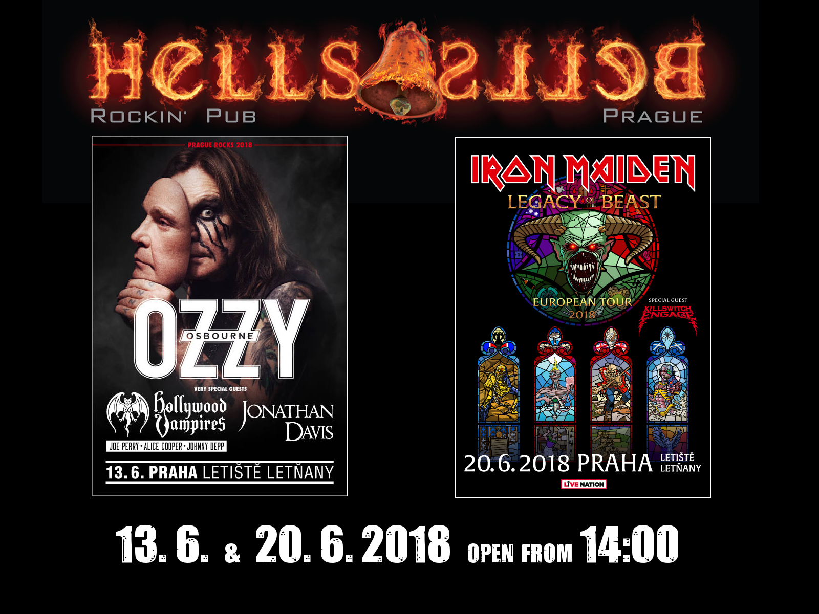 Ozzy a Mejdni v Hells