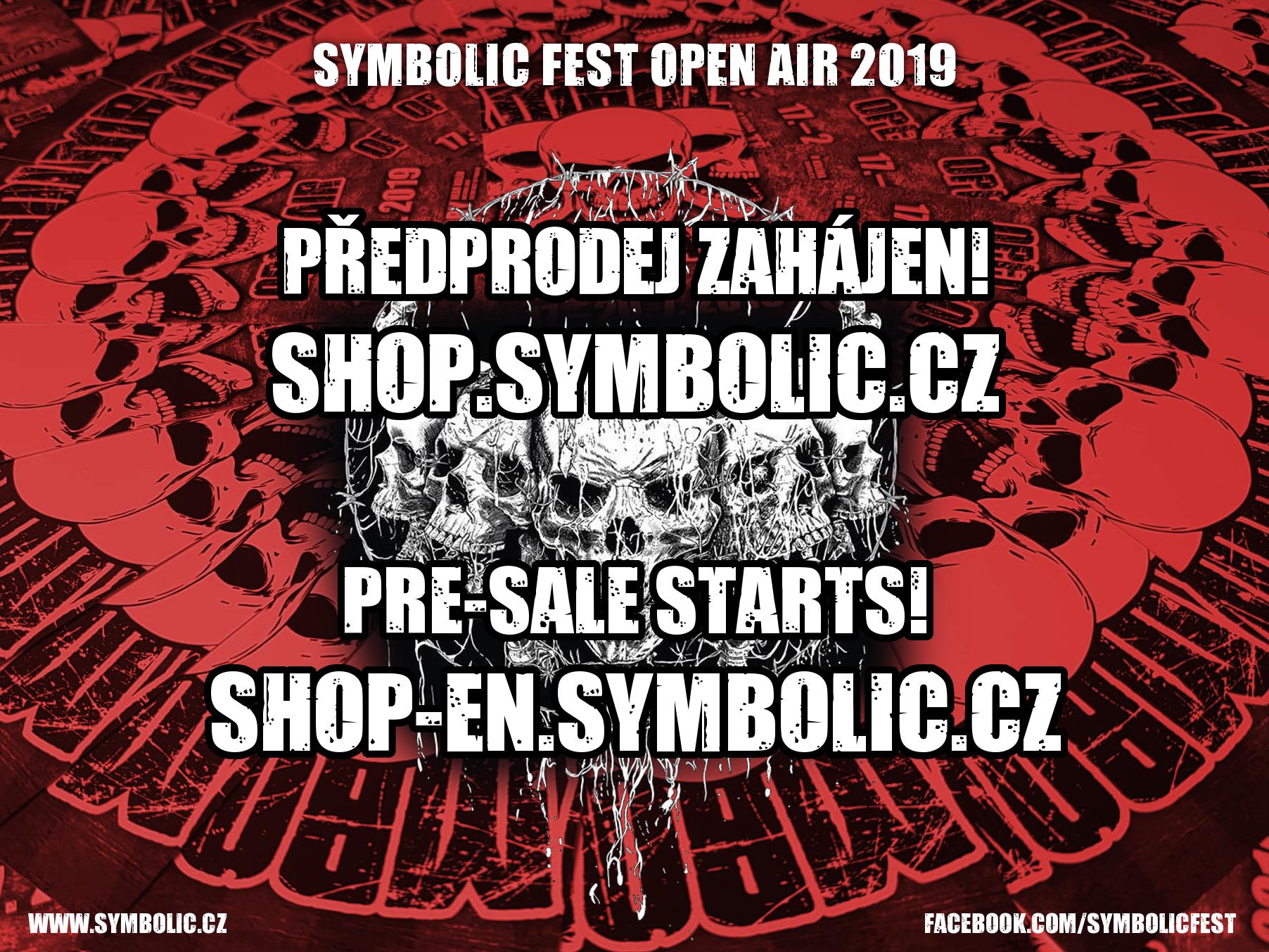 Symbolic - předprodej